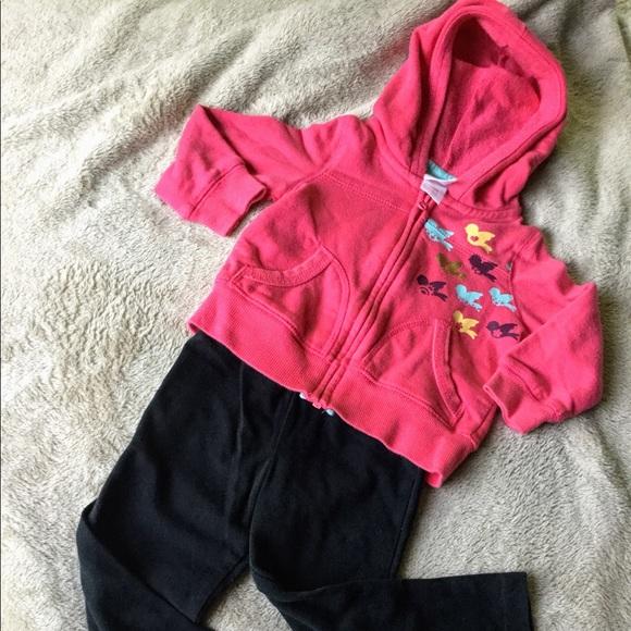 Circo Other - Circo Sweet Birdie SweatShirt Pink Zip Up
